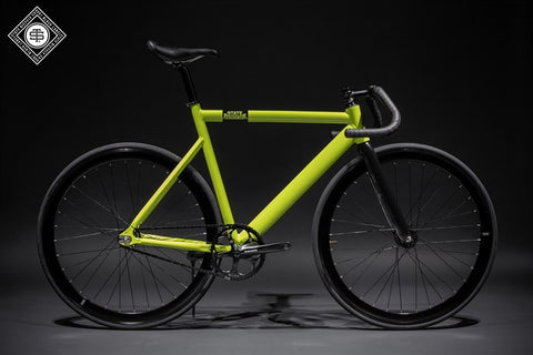 State Bicycle Co Chartruese - 6061 Black Label Fixed Gear Bike