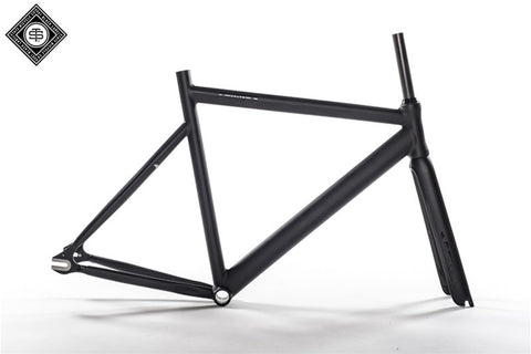 State Bicycle Co 6061 Black Label Frame Set - Matte Black