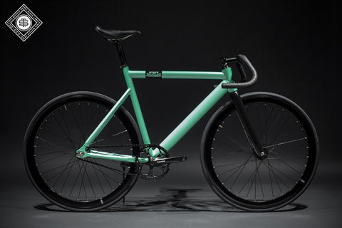 State Bicycle Co Sea Foam Green - 6061 Black Label Fixed Gear Bike