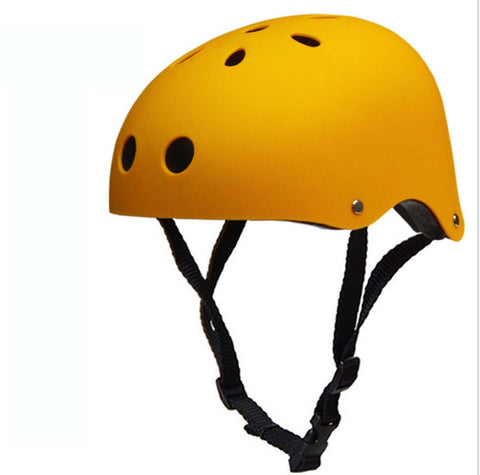 New Critical Cycles Classic Commuter Feral Bullet Protection Deluxe Bike/Scooter/Skate/Hiking/Drift Helmet, Skateboarding, Outdoors Sports, For Head (Matte Yellow)