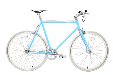 MBA Skydive Blue Single Speed Bike/Fixed Gear Road Bike - Size: 55cm