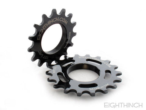 Eighth Inch Cnc Cog Chromoly 15t 1/8 Black