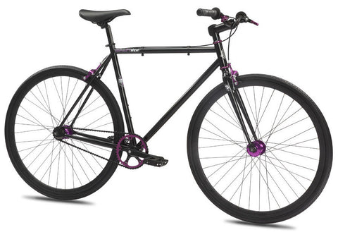 Se Bikes Draft Lite 2012 Matte Black 52cm Fixie/Fixed Gear Single Speed Bike