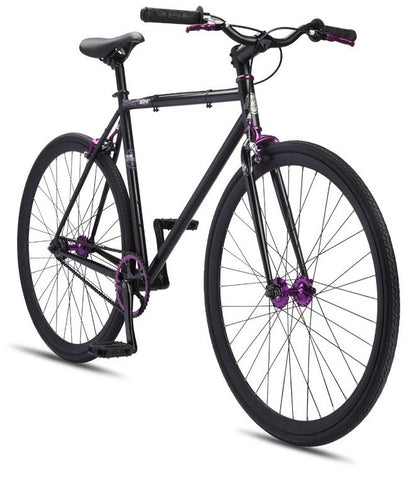 Se Bikes Draft Lite 2012 Matte Black 58cm Fixie/Fixed Gear Single Speed Bike