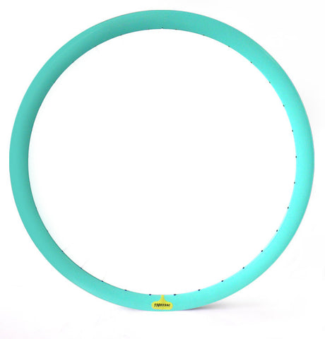 Espresso Deep V Rim Pair - Aqua 43mm Non Machined