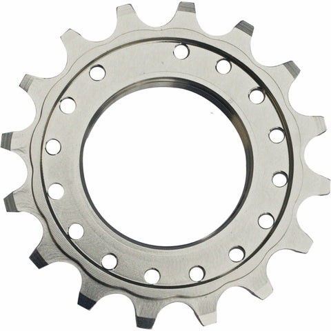 "1/8"" Single Sprocket: Silver 16T"