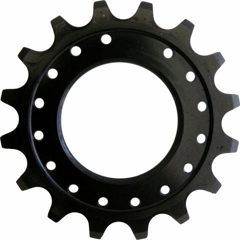 "1/8"" Single Sprocket: Black 16T"