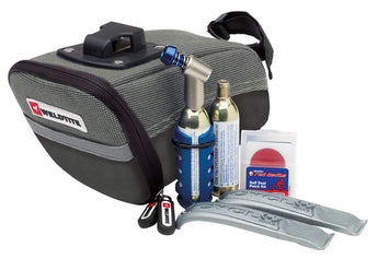 Weldtite Wedgebag Repair And CO2 Inflator Kit for bike