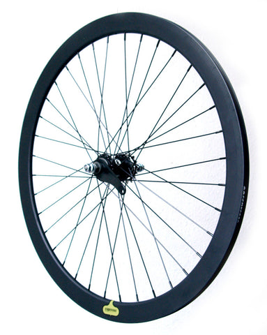 Espresso Coaster Brake Wheelset - Black 43mm Deep V Wheels