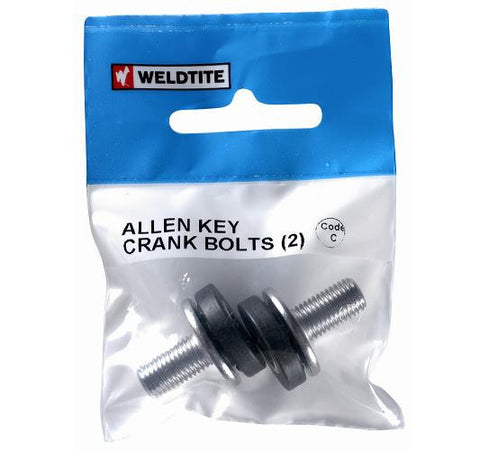 Bike Bits Allen Key Crank Bolts (2)