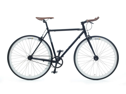 Mango Bikes Classic Black Single Speed Fixed Gear Bike