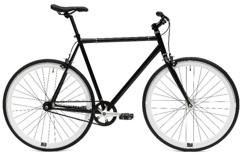 Create Bikes C8 Black Fixed Gear Single Speed Fixie Bike 2013 - 54cm Frame