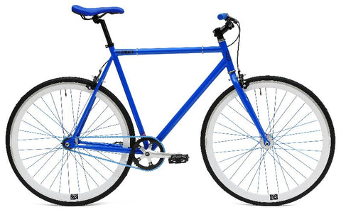 Create Bikes C8 Blue Fixed Gear Single Speed Fixie Bike 2013 - 54cm Frame