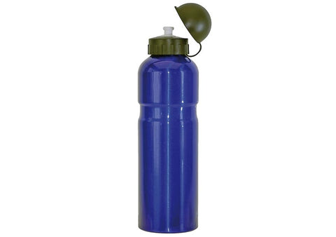 Mighty 750ml Alloy Water Bottle - Blue