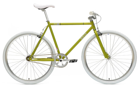 Chill Bikes 2015 Base Lime Green Single Speed Fixie Bike