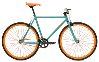Chill Bikes 2015 Base Turquoise Single Speed Fixie Bike