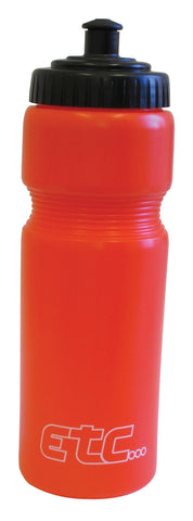 ETC BOTTLE 750MM RED