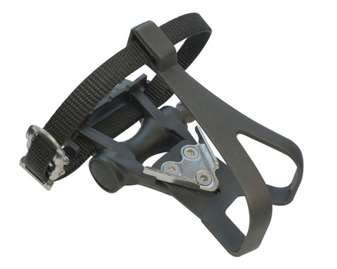 ETC PAIR PEDAL ROAD RESIN INC TOE CLIP/STRAP
