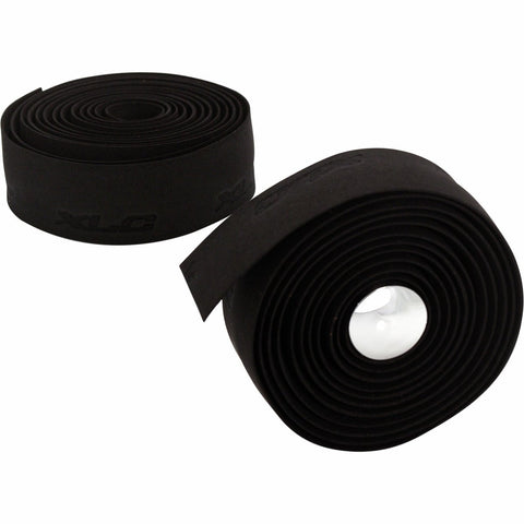 XLC Gel Handlebar Tape: Black for Bike