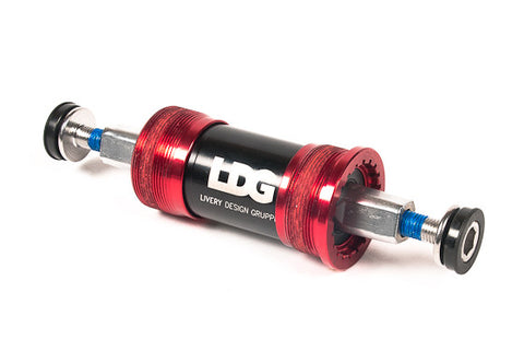 Livery Design Gruppe Hollow Axel Bottom Bracket Red