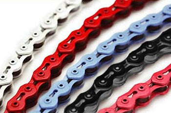 KMC K710SL BMX Chain Red 100L
