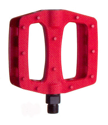 "HT 9/16"" BMX Composite Pedal Red"