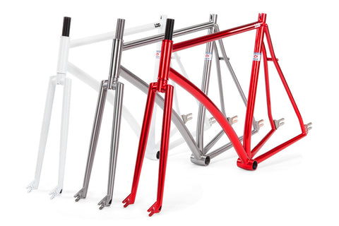 Livery Design Gruppe Pursuit MK3 Fixed Gear Columbus Track Frame
