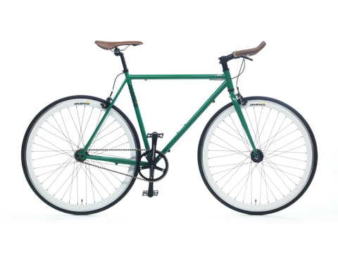 Mango Bikes Classic Racing Green Single Speed Fixed Gear Bike