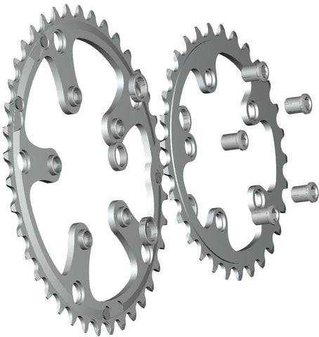 5-Arm/74mm Chainring: 28T