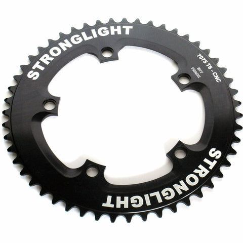 5-Arm/130mm Track Chainring: Black 50T