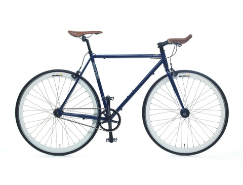 Mango Bikes Classic Royal Blue Single Speed Fixed Gear Bike