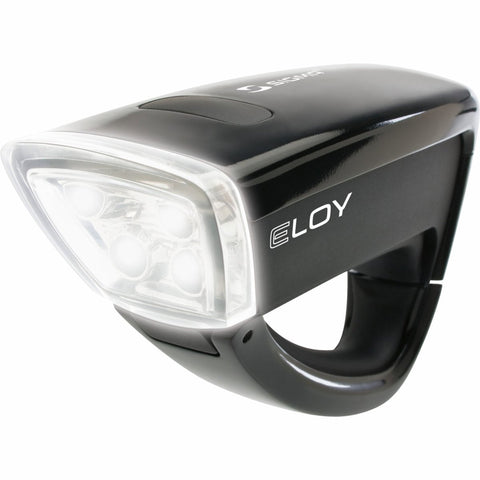 Eloy 4 LED Front Light: Black