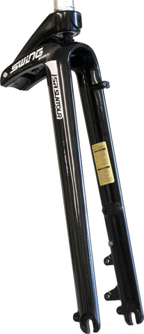 Swing Shock-S 700c Suspension Fork: Black