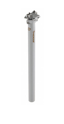 Zoom 27.2mm X 350mm Micro Adjust Seat Post White