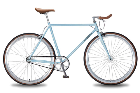 Foffa Bikes 2016 Single Speed Bike Azure