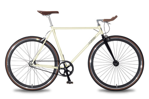 Foffa Bikes 2015 Single Speed Bike Creme