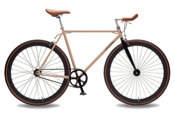 Foffa Bikes 2016 Single Speed Bike Creme