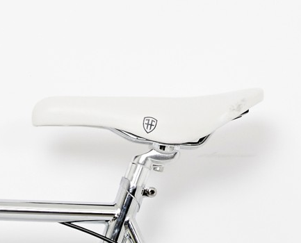 Foffa White Track Saddle