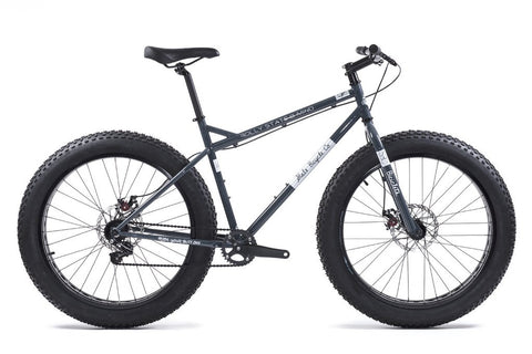 State Bicycle Co Megalith Fat Bike - Asphalt/White