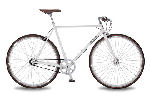 Foffa Bikes 2015 Urban 7 Speed Nexus Bike White