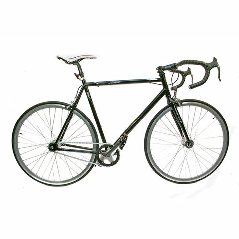 53cm Viking Road Fixed Wheel 700c, Black Rigid Fixed Steel - CLEARANCE FEW MINOR SCRATCHES
