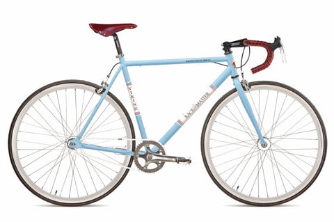 53cm Viking Racemaster Fixed Wheel 700c, Blue Rigid Fixed Steel