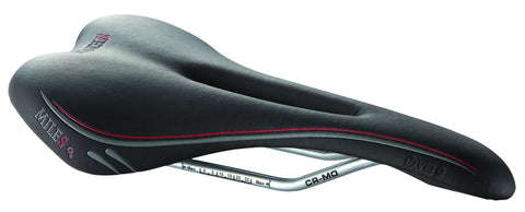 SADDLE SENSO MILES LADY BLACK 266X137MM