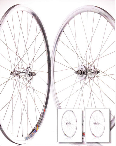 700c Flip Flop Fixie Wheelset (pair) White