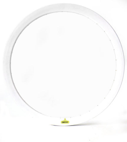 Espresso Deep V Rim - White 43mm Non Machined