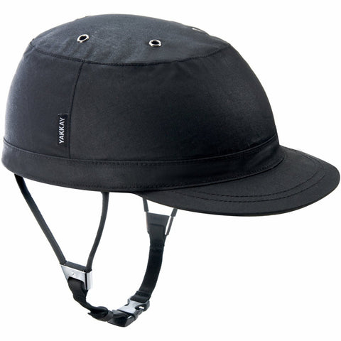 Paris Black Oilskin Helmet Cover: Medium (55-57cm)