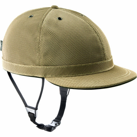Cambridge Gold Helmet Cover: Medium (55-57cm)