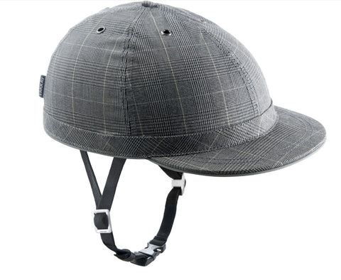 Cambridge Check Helmet: Medium (55-57cm)