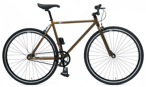 Chill Bikes BASE Brown 2015 Single Speed Bike