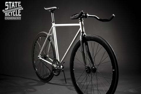 State Bicycle Co Contender Fixed Gear Single Speed Track Bike